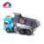 Most popular kids favorite musical plastic friction power toy dump truck with lighting