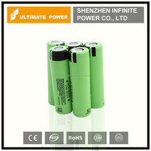 3400mah high capacity 18650 rechargeable lithium ion battery panasonic ncr 18650-b electric scooter battery