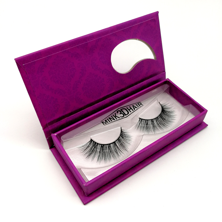 Eyelashes Wholesale , <strong>flat</strong> siberian mink lashes eyelash packing box for false eyelashes