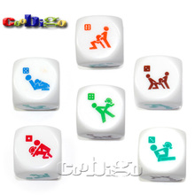 Sex Funny Adult Love Humour Gambling Romance Erotic Craps Dice Pipe Toy Festive Party Holiday Supplies