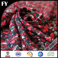 Custom digital print 100% silk fabric for tie