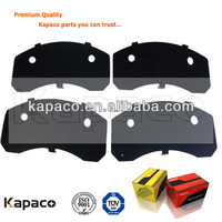 Kapaco Ford Automotive Parts of ceramic brake pad D702 with brake pad shim