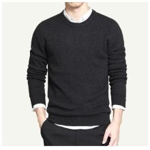 Pure cotton sweaters men best style O neck mens sweaters brand jersey pullover male autumn winter 4XL knitwear dress