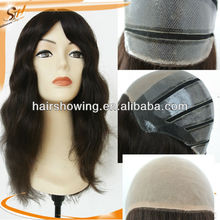 2013 New style all hand tied silk top wig