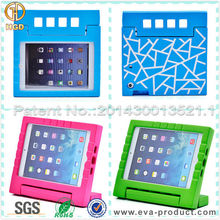 EVA Shock Proof Handle Stand Silicone Cases for iPad