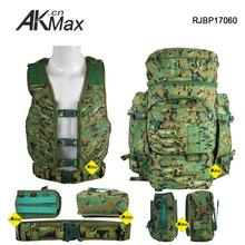 New design tactical backpack used military heavy equipment with low price