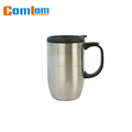 CL1C-M50 comlom 13oz stainless steel insulated beer mugs cup with handles
