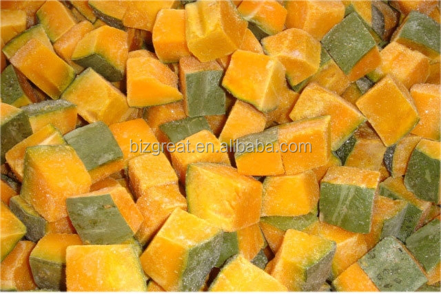 Supply good quality Pumpkin Cut IQF for sale