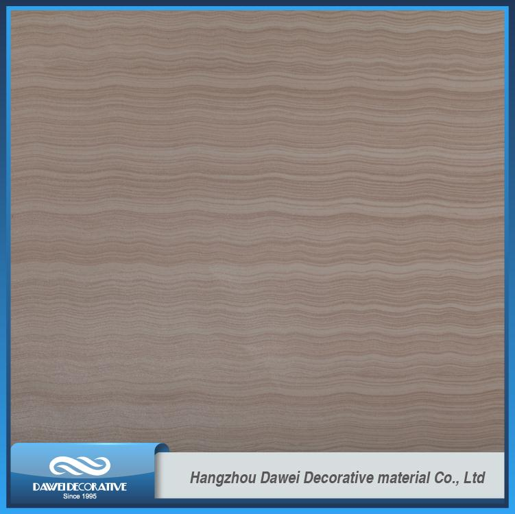 Hot selling DW18121-1 40GSM furniture covering type PU coated door paper