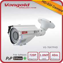 Best selling min HD SDI CCTV camera auto focus 2.8-12mm lens