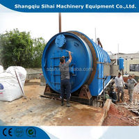 Used tyre retreading machine oil extraction