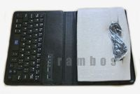New Bluetooth Keyboard with Swivel Rotating Stand Case Cover for ipad mini