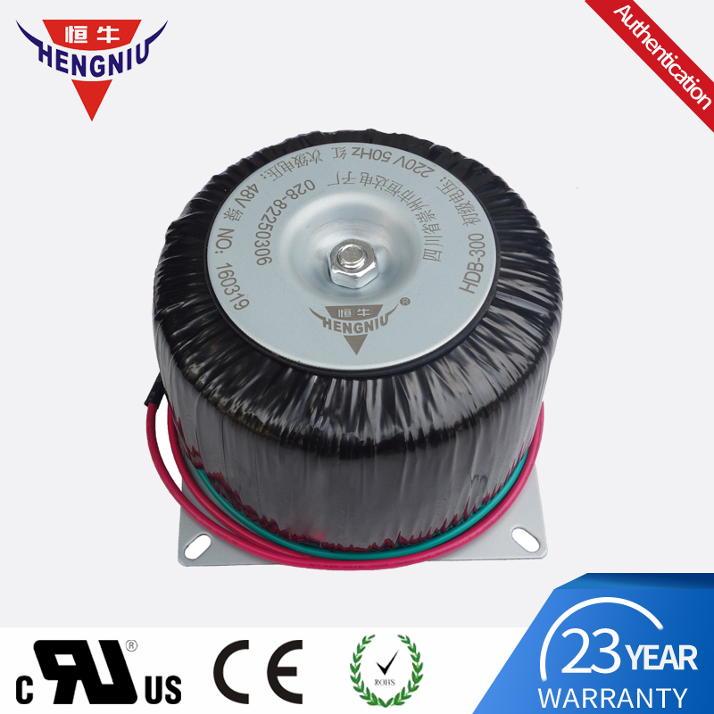 toroidal transformer 300W 220V to 48V for stepping motor