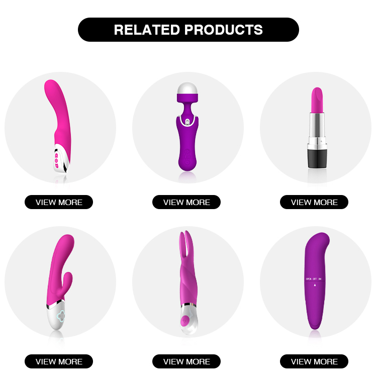 Wholesale Vibrator Sex Toys For Woman G-spot Vibrators 10 Modes Massage AV Wand Female Sex Product USB Rechargeable