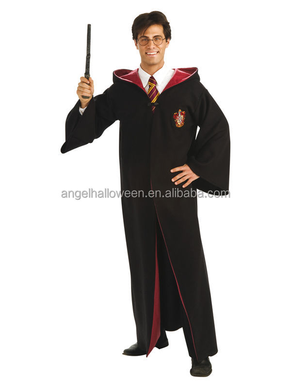 new arrival high quality halloween costumes hot sale cheap men cosplay costumes adult Harry Potter CostumesAGM4058