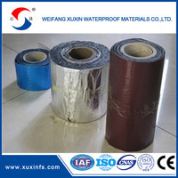 Waterproof aluminum self adhesive bitumen flashing tape for roof