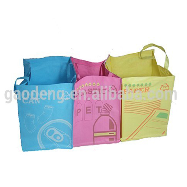 cheap price recycled garbage bags for car