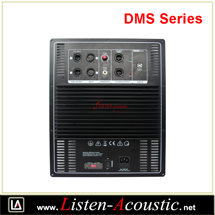 DMS Series Class D Digital Subwoofer Plate Amplifiers