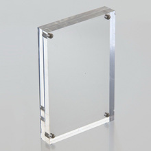 4x6 5x7 Clear Acrylic Picture Frames Wholesale, Custom Magnet Acrylic Frame