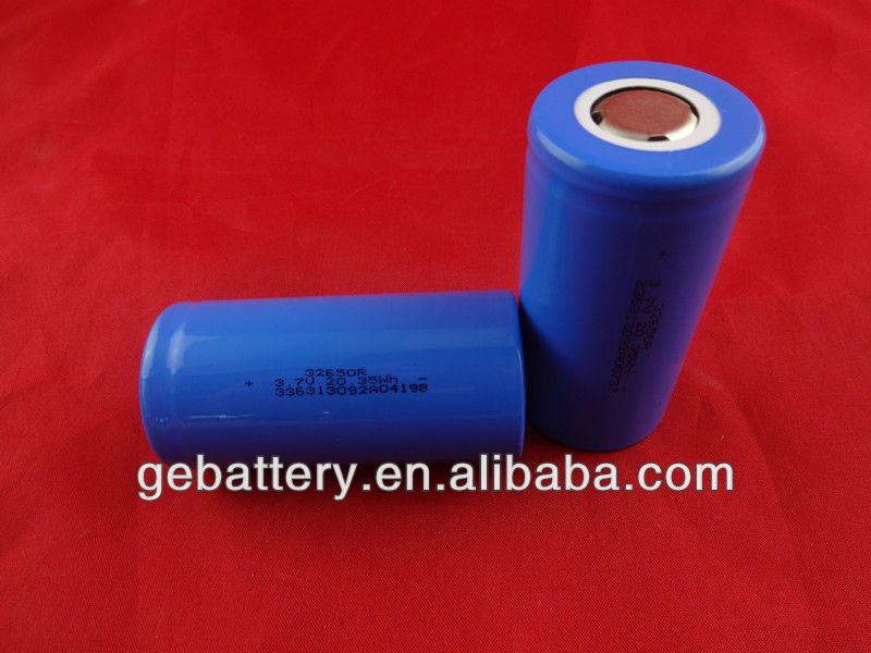 Li-ion 32650 3.7v5500mAh rechargeable high capacity cylindrical battery