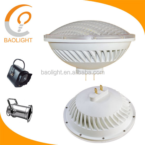 500W Halogen PAR56 Led Replacement, no flickering under camera or phones, 120V dimmable