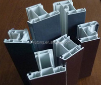 Hot sale upvc profile for window,pvc window profile, pvc door profile with competitive price