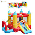 Happy hop Play Center-9114 4 in 1 Kids Play Center and inflatable castle with slide