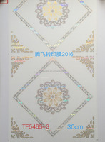 2016 new motif hot stamping film for pvc plafon TF5465-3