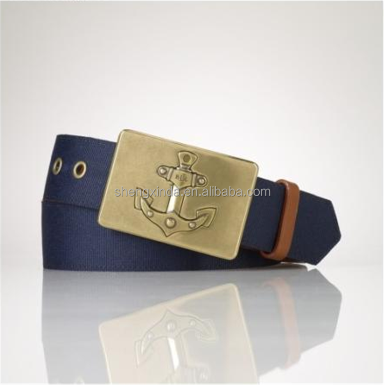 china custom fashion military style cheap metal belt buckle parts for men