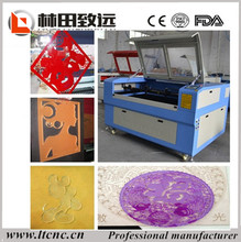Acrylic laser cutting machine 1290/hobby CNC laser cutter/engraver 1390 manufacturers looking for distributor