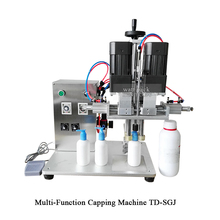 Semi Automatic Plastic Bottle Cap Sealing Machine