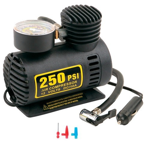 12V Car Auto Electric Pump Air Compressor Portable Tire Inflator 300PSI fast air inflation