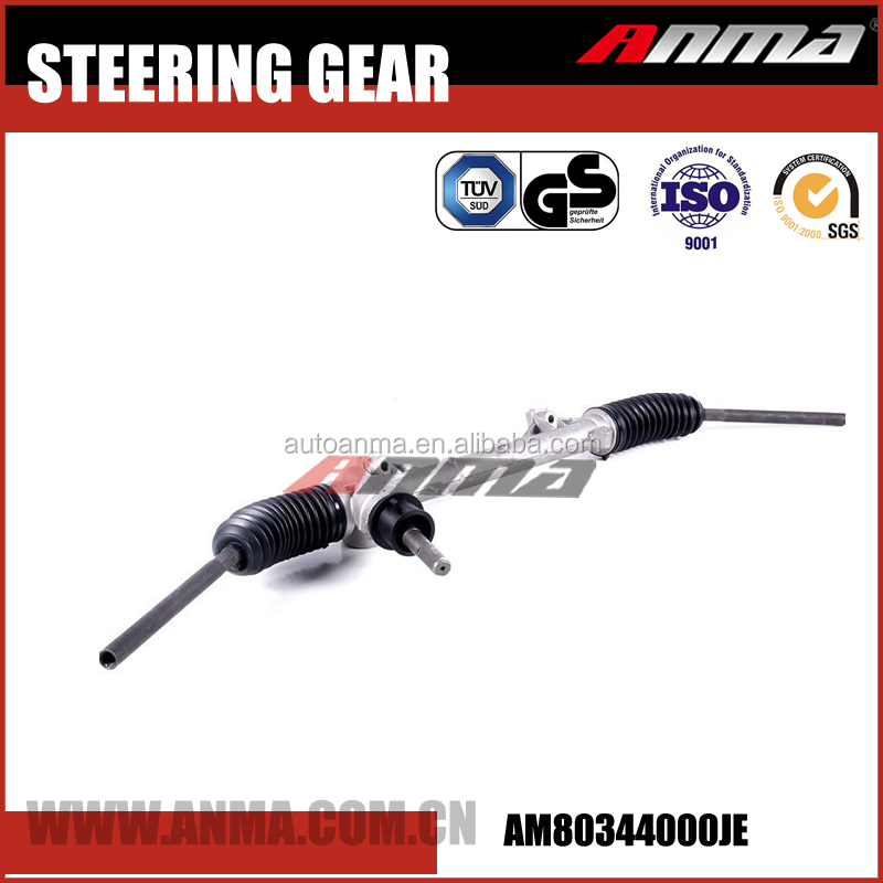 High performance powersteering gear rack used for puegeot 206