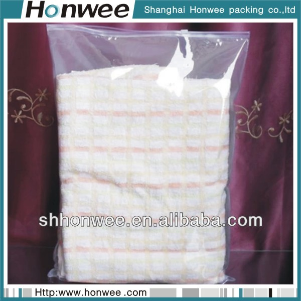 high quality promotional clear clothing protection bags