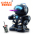 GLOBAL DRONE TT333 Infrared Toy RC Robots Plastic Toys fighting robot With Light &Music
