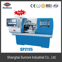 Low cost automatic lathe machine with 38mm spindle bore SP2115