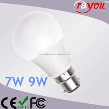 Dimmable e27 led 9w bulb lights, cheap price import light bulbs led, led light bulbs made in china