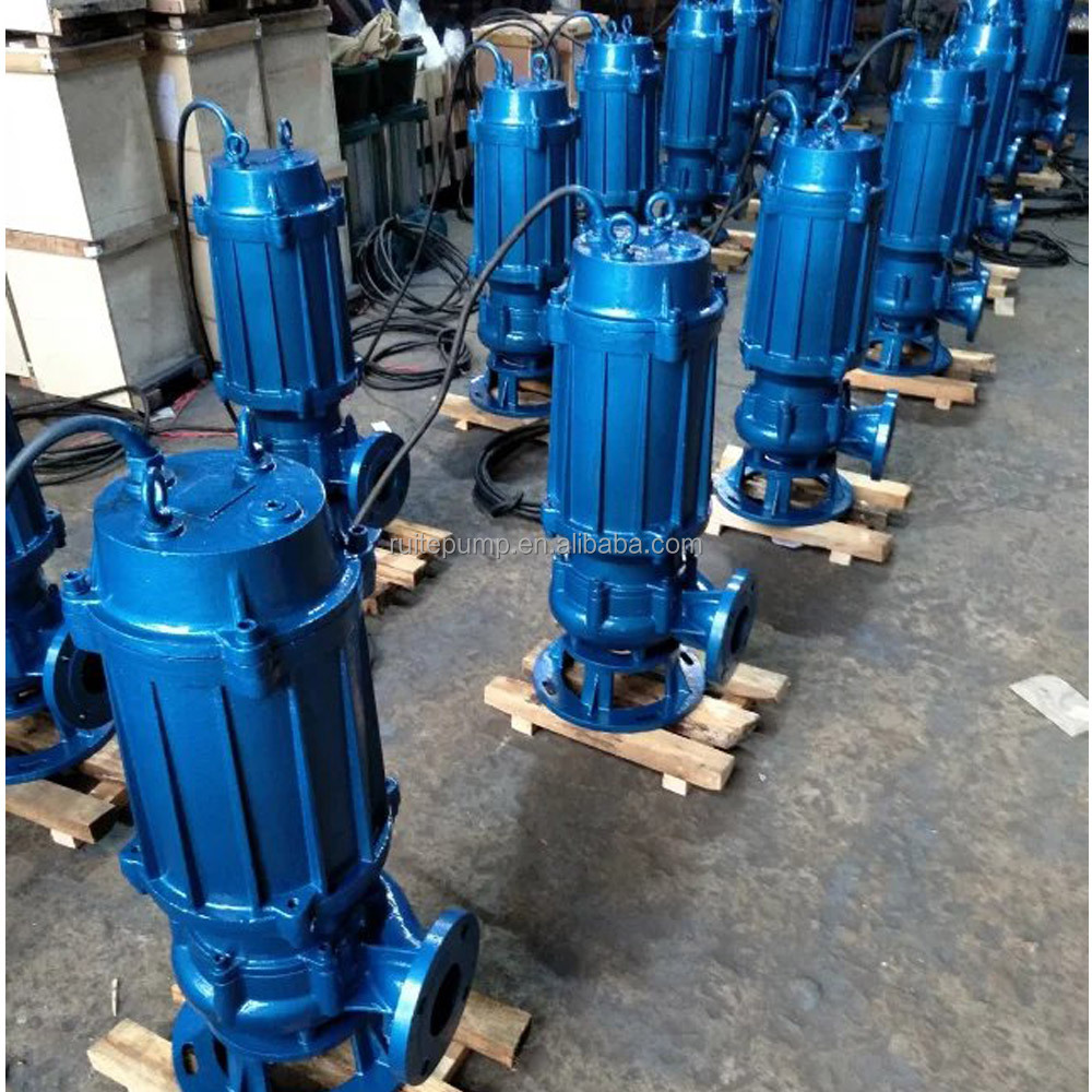 Centrifugal submersible inline sewage pump sea water pump
