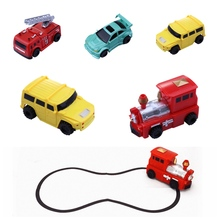 Draw lines magic novelty B/O toys for kids electric inductive truck inductive toy car