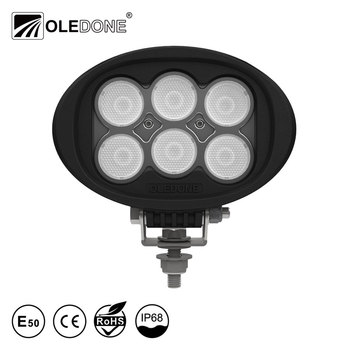 "Factory direct offer Oledone Profi winner 6"" oval 60W agricultural automotive trailer tractor truck led work light"