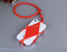 Promotional strap cellphone silicone sling rope mobile phone holder lanyard