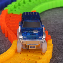 Bend Flex & Glow Magic Track Toys Car