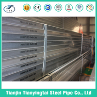 Galvanized Square Carbon Welded Steel Pipe For Greenhouse