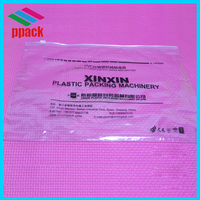 high quality clear PVC ziplock bag for underwear
