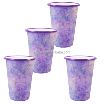 17oz enamel tumbler camping mug with heat transfer sublimation