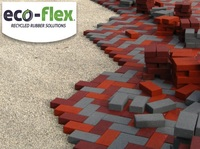 Churchill Recycled Rubber Brick Pavers