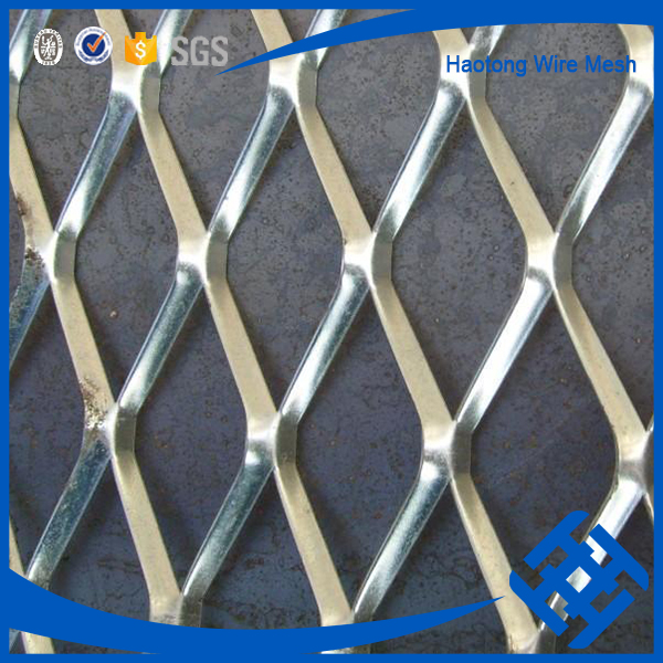 Best Galvanized Expandable Sheet Metal Diamond Mesh