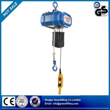 3T Single Chain type electric chain hoist with hook