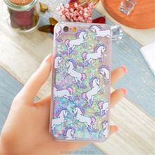 J710 J510 Glitter Stars Dynamic Liquid Hard Case Cover For Samsung Galaxy J7 A710 A510 back cover Transparent Clear Phone Cases
