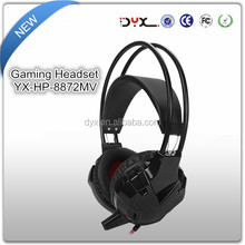 Noise isolation fancy design wired games Headphones headsets for computer